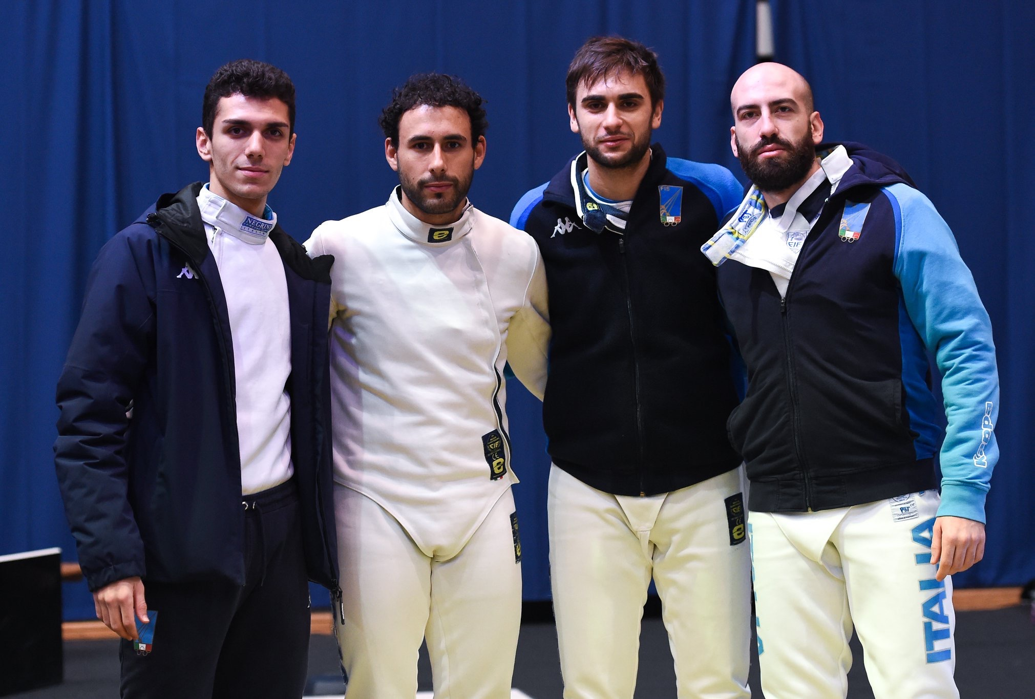 squadra Italia scherma